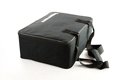 TUPPERWARE Tasche Profi-Koffer schwarz mit stabilen Füßen Vorführtasche