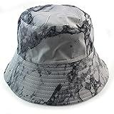 NJJX Sombrero De Pescador Tie-Dye Mujer Verano Al Aire Libre Moda Sombrero para El Sol Hombre Colorido Graffiti Sombrero De Doble Cara M (56-58Cm) 3#