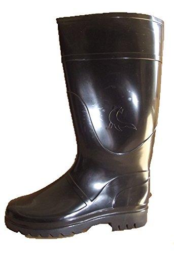 Kormax Foca Rain 106, Botas de Goma de Trabajo Unisex Adulto, Negro (Black), 43 EU