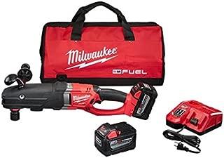 Milwaukee 2711-22HD M18 Fuel Super Hawg Right Angle Drill HD Kit w/QUIK-LOK
