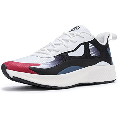 URDAR Zapatillas Deportivas Mujer Transpirables Ligeras Zapatos de Malla Correr Sneakers Respirable Running Zapatillas De Deporte (Azul,39 EU)