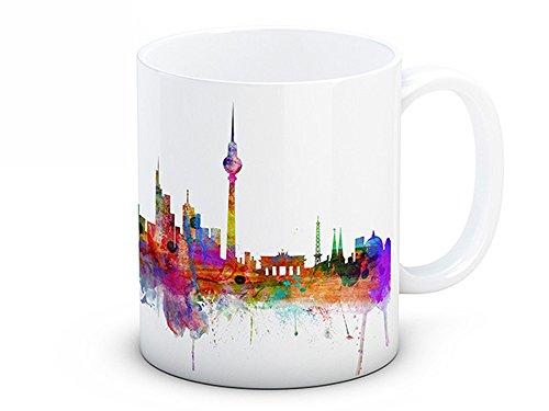 Berlin Skyline, Deutschland Stadtbild - Keramik Kaffeetasse
