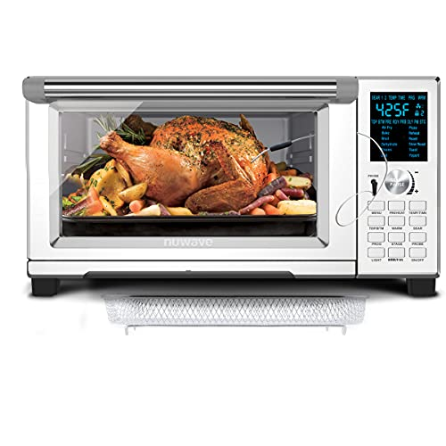 NUWAVE BRAVO XL Convection Oven with Patented Digital Temperature Probe ; 12 Presets;...