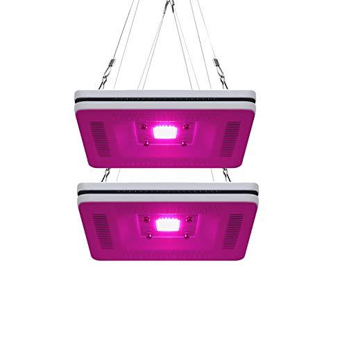 FECiDA 2-Pack LED Grow Light Waterproof, Total 600W HPS & CMH Grow Lights...