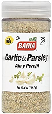Badia Garlic and Parsley, 5 Ounce from Badia Spices, Inc.