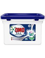 OMO 3in1 PODS, Washing liquid capsules, Eucalyptus Scent, 15 counts
