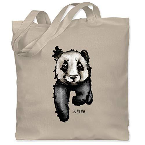 Wildnis - Panda mit chinesischen Schriftzeichen für Panda übersetzt