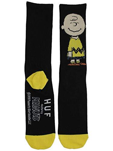 HUF Herren Socken X Peanuts Charlie Crew Socks