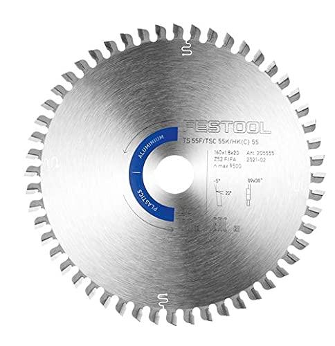 Festool 205555 HW 160x1,8x20 F/FA52 Hoja de sierra especial