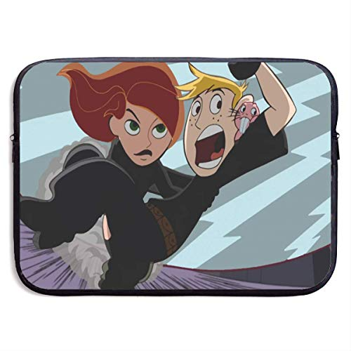 Fashion TV Show Kim Possible Laptop Sleeve Bag Tablet Briefcase Ultraportable Protective Cover Neoprene for MacBook Pro/MacBook Air/Notebook Computer 13 inch Black