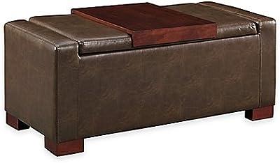 Amazon Com Seville Classics 31 5 Quot Foldable Tufted Storage