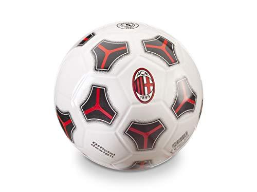 Mondo Toys - Pallone da Calcio A.C. MILAN pvc per bambina/bambino - Tango PVC - Colore: bianco/rosso/nero - 02074