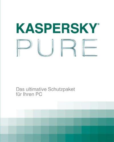 Kaspersky PURE (Lizenz für 3 PCs, DVD Box)