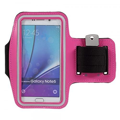 Cover-Discount Universal - Brazalete Deportivo para móvil (tamaño L), Color Rosa