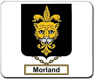 Morland or Moreland Family Crest Coat of Arms Mouse Pad