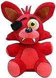 Five Nights At Freddy'S Peluches Blacklight Cupcake Bonnie Chica Funtime Foxy Muñeca de Juguete Muñeco de Peluche, Regalo de cumpleaños para niños, niñas y Adultos 8-Inch