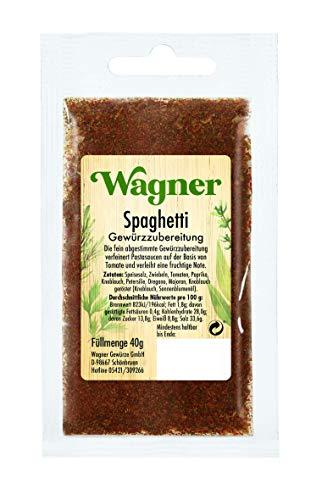 Wagner Gewürze Spaghetti Gewürzzubereitung, 40 g