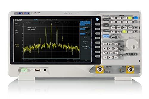 Siglent Technologies SSA3021X-TG Spectrum Analyzers,9 kHz to 2.1 GHz with Free Tracking Generator