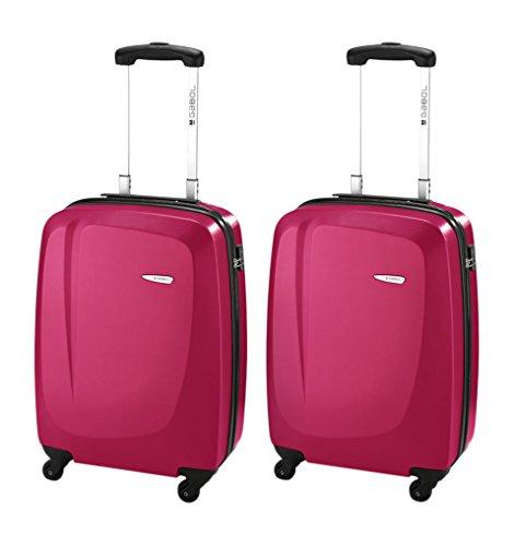 GABOL, Set de bagages Mixte Fucsia 55 cm