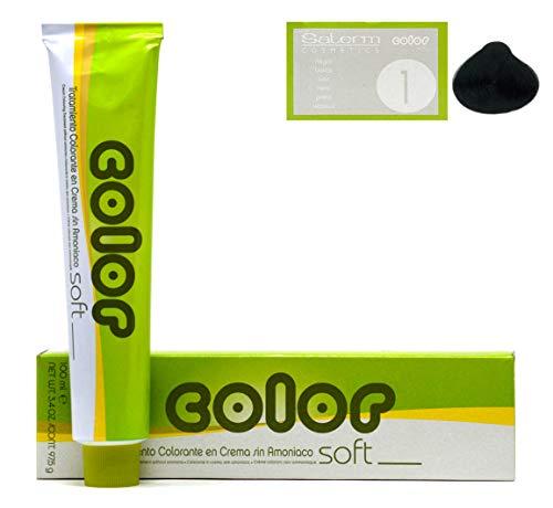 Salerm Color Soft Semi Permanent No Ammonia (1 Black)