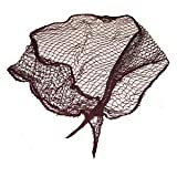 Old Fashion Cotton Blend Triangle Net/Brown/Black