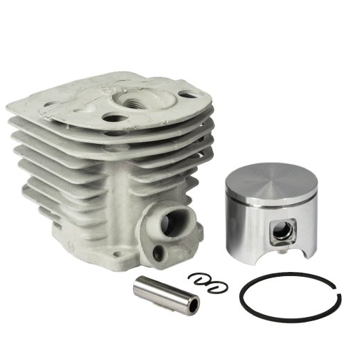 Max Motosports Cylinder Piston Rebuild Kit Assembly Fits Husqvarna 55 51 Chainsaws 46mm # 503 16 91-71
