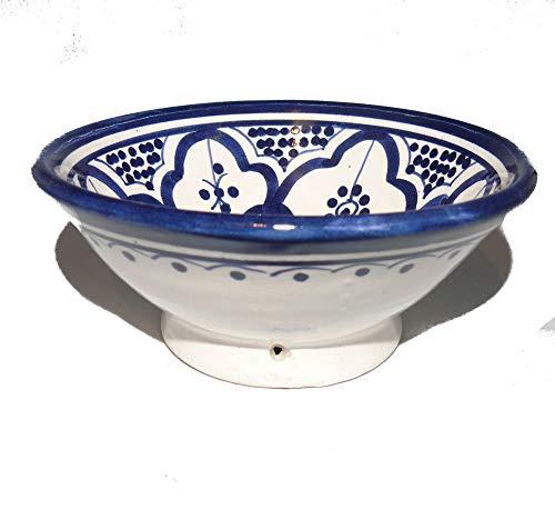 Orientalische Keramik Schüssel Schalen Dip und Oliven Ø 12 cm Safa - 905814-0031