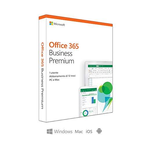 Microsoft Office 365 Business Premium 1licencia(s) 1año(s) Italiano - Suites de programas (1 año(s), Italiano)