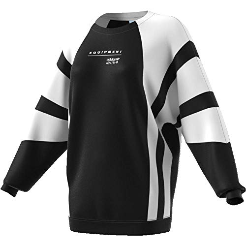 adidas Damen EQT OG Sweatshirt, Black/White, 34
