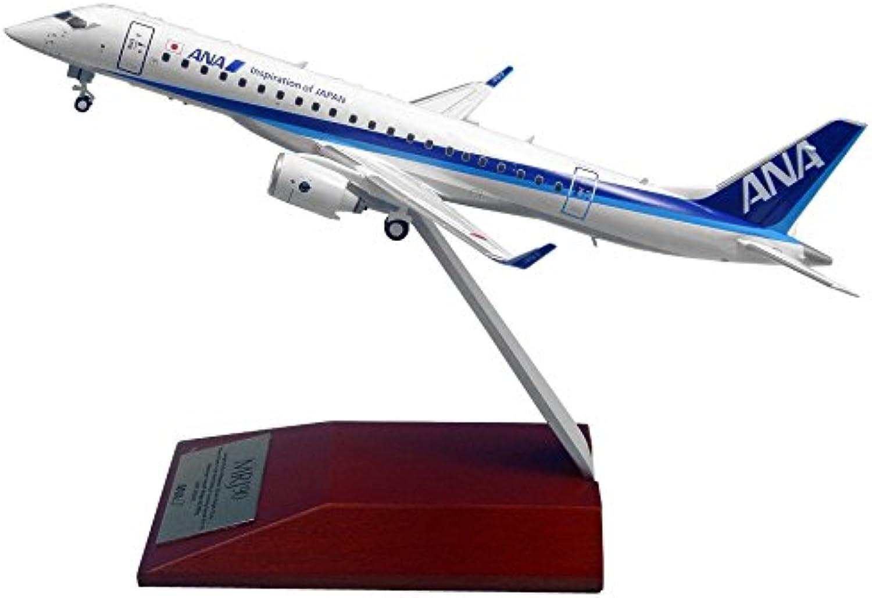 All Nippon Airways 1 200 MRJ90 ANA painted wood pedestal