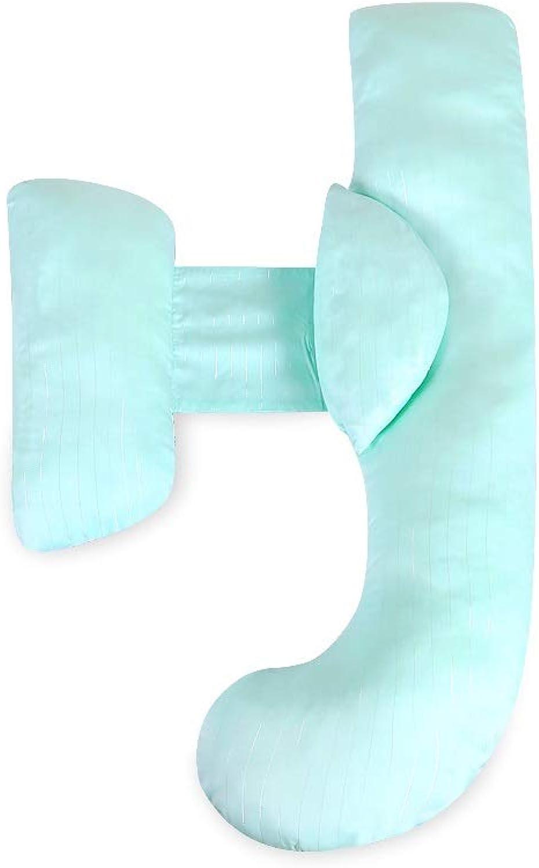 Oreiller THEBIBEI Tencel Et Coton Fibre d'allaiteHommest Maternité Quatre Saisons Disponible Multifonction Réglable Support Coussin 150cm
