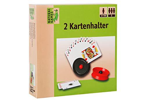VEDES Großhandel GmbH - Ware 0061907076 Natural Games Kartenhalter 2 Stück