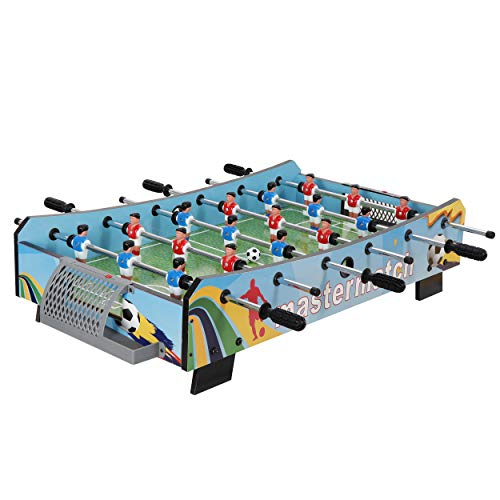 Buy F2C 40 Foosball Tabletop Soccer Game Mini Compact Table Top Football Table for Kids and Adults,...