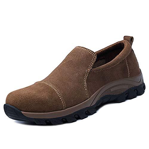 CHNHIRA Chaussure de securité Homme Femme Chaussure de Travail Soudure électrique Protection (EU41 Kaki)