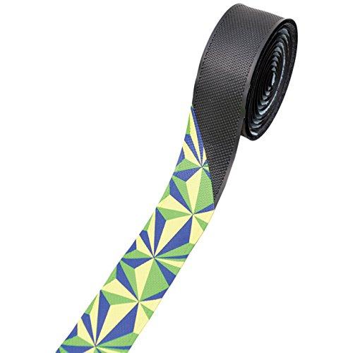 ノグチ(NOGUCHI) ジオメトリックバーテープ [NBT-005] ブラック/イエローグリーン 15187 ブラック/イエローグリーン