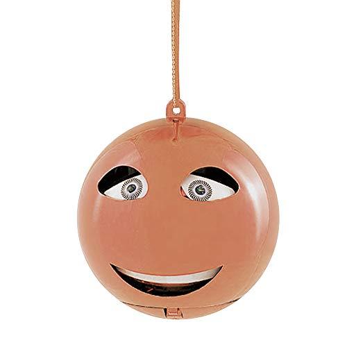 Monsterzeug Christbaumkugel mit Sound - Let it snow, Singende Weihnachtsbaumkugel, Animierte Weihnachtskugel als lustiger Weihnachtsbaumschmuck