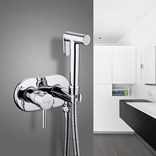 PassBeauty FRAP F7505 - Rubinetti per bidet, in ottone, miscelatore per doccia, bidet, WC