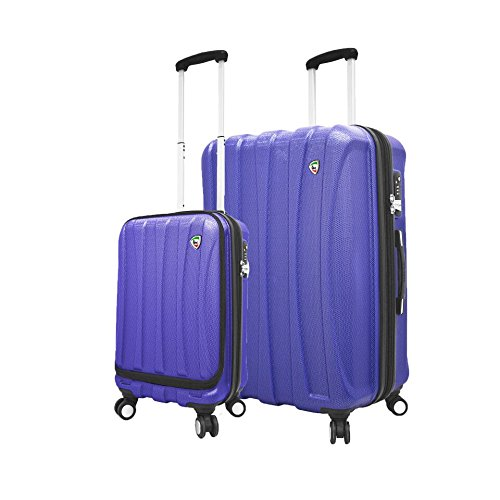 Purchase Mia Toro Italy Moderno Hardside Spinner Luggage 2pc Set-Blue, Black