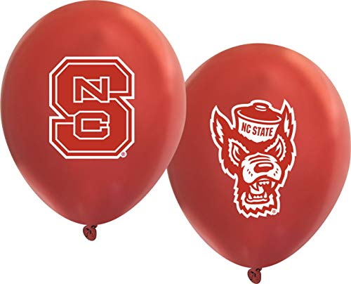 NC State Wolfpack 11' Balloons - 10/pkg.