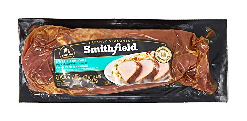 Smithfield, Sweet Freshly Seasoned Teriyaki Pork Tenderloin, 1.15 lb