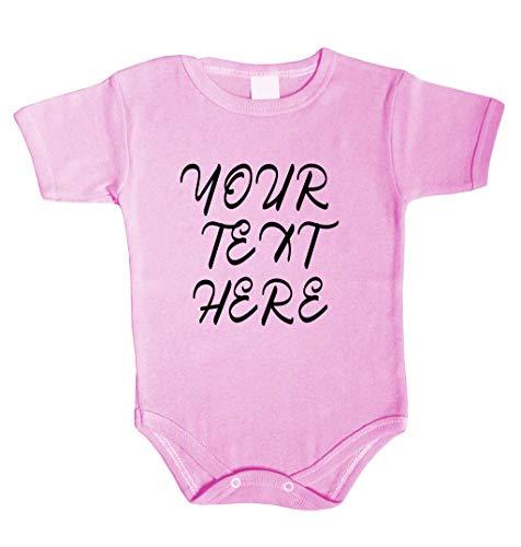 Tradebox Ihr WunschText Hier Baby Langarm Body Selbst Gestalten Dein individueller Druck Personalisiert Babykleidung Strampler Unterw/äsche Geschenk /Überraschung Geburtstag Weihnachten