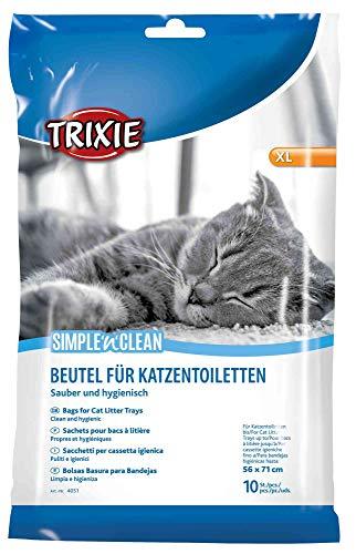 TRIXIE 10 Bolsas para bandeja higiénica gatos, hasta 56 x 71 cm, Gato