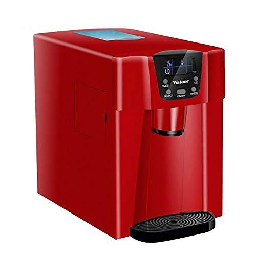 XUMI Eiswürfelmaschine, LCD Elektrische Automatische Eismaschine 15KG/24H Rundblock 105W Eiswürfel Eiswürfelbereiter Eisiger Wasserspender Getränk,Automatically add Water