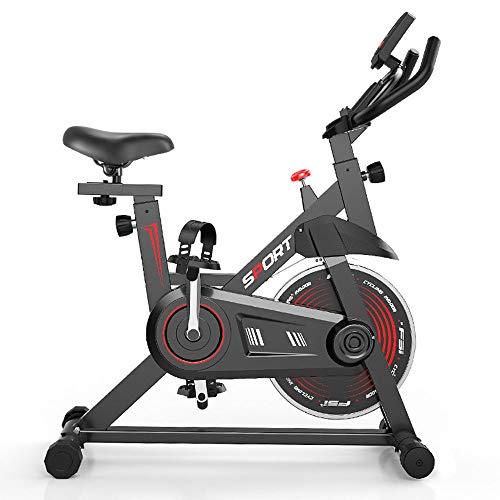 YOVYO Bicicleta Estáticas para Fitness Bici De Spinning, As