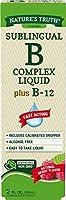 Nature's Truth 2オンス - 舌下Bコンプレックス液プラスB-12ナチュラルベリーフレーバーリキッド