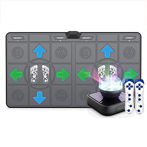 Dancing mat Home Multifunctional somatosensory Game Machine Yoga mat Smart Treadmill Single Double Dancing mat Healthy Weight Loss Exercise mat