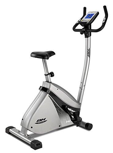 BH Fitness Pixel Program H495 - Bicicleta estática, 12 programas con 16 niveles de intensidad, Volante inercia, 7.5Kg