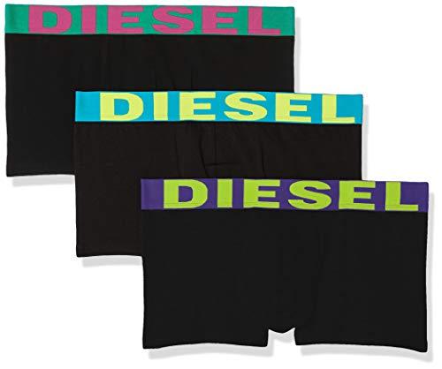 Diesel Herren UMBX-SHAWNTHREEPACK Boxer 3pack Slip, Grün/Violett, Small