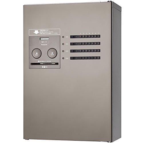 パナソニック(Panasonic) 集合住宅用宅配ボックス COMBO-Maison ハーフ 6錠 (前出し) 左開き ステンシルバー CTNR4630LSC