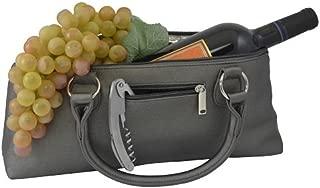 Primeware Birmingham Wine Clutch, Gray